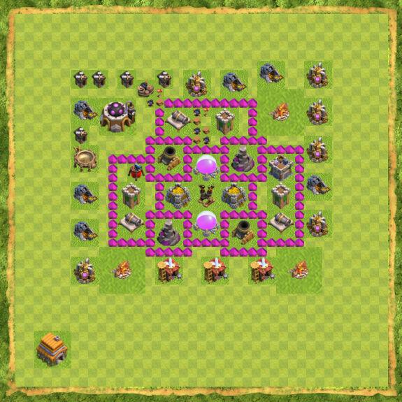 Base Farming Coc Th 6 22