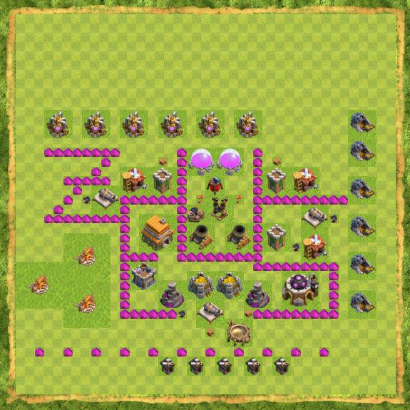 Base Farming Coc Th 6 29