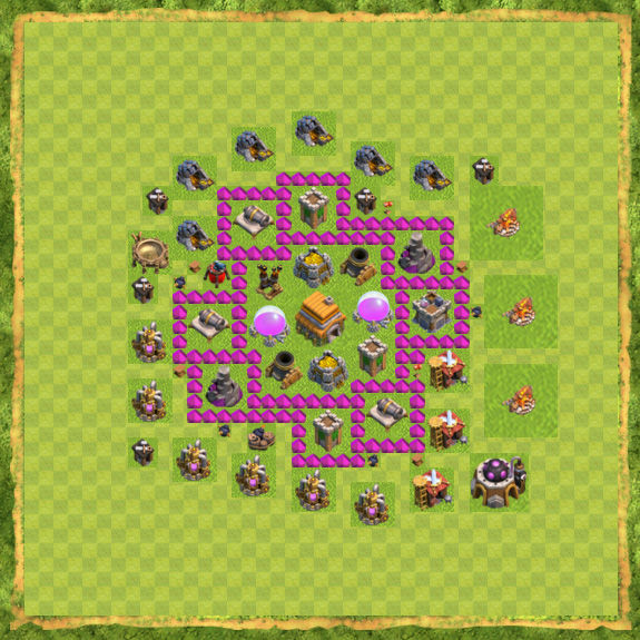 Base Defense Coc Th 6 15