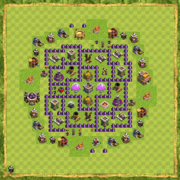 Base Farming Coc Th 7 1