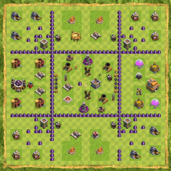 Base Farming Coc Th 7 16