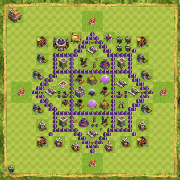 Base Farming Coc Th 7 23