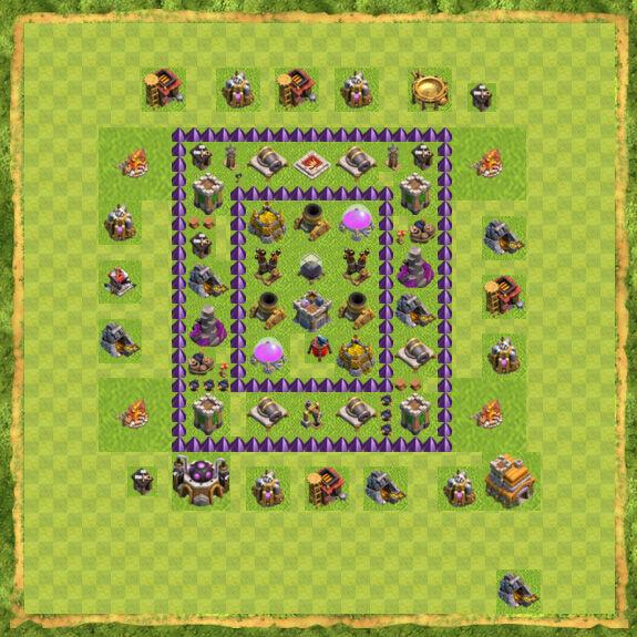 Base Farming Coc Th 7 3