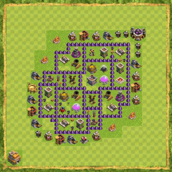 Base Farming Coc Th 7 39