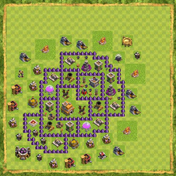 Base War Coc Th 7 23
