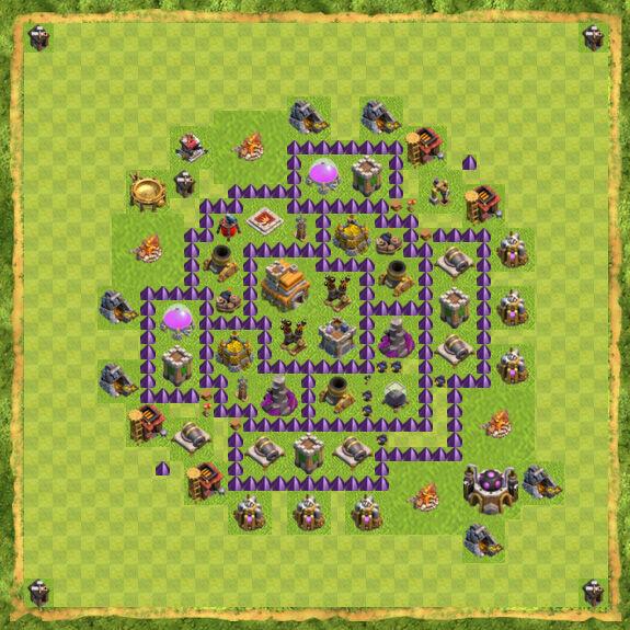 Base War Coc Th 7 27