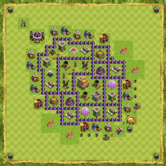 Base War Coc Th 7 39