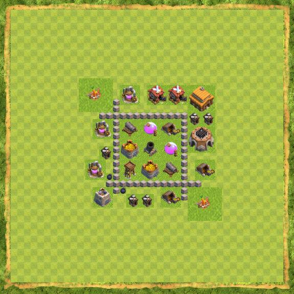 Base Farming Coc Th 3 1