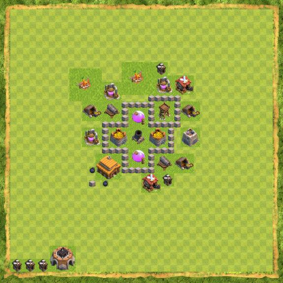 Base Farming Coc Th 3 19