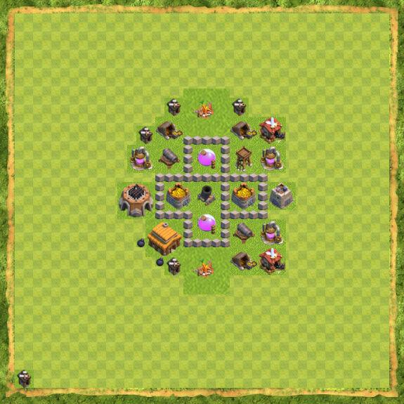 Base Farming Coc Th 3 20
