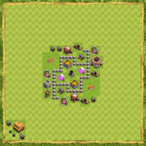 Base Farming Coc Th 3 21