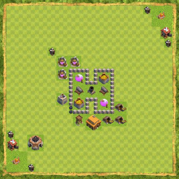 Base Farming Coc Th 3 22