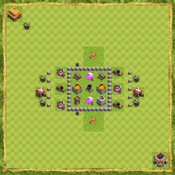 Base Farming Coc Th 3 23
