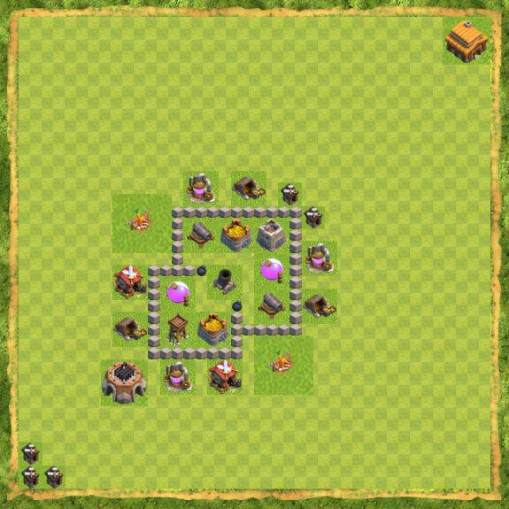 Base Farming Coc Th 3 7