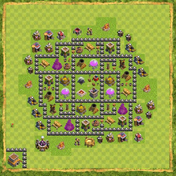 Base Farming Coc Th 8 23