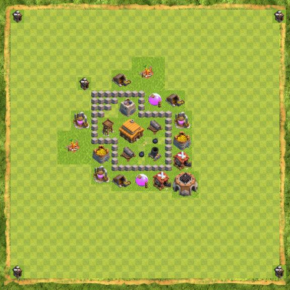 Base War Coc Th 3 13