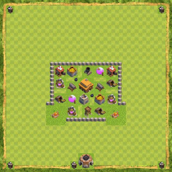 Base War Coc Th 3 20