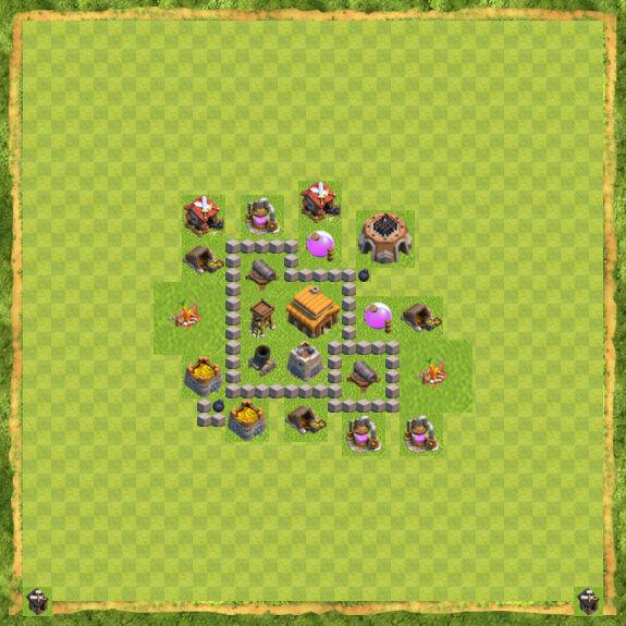 Base War Coc Th 3 22