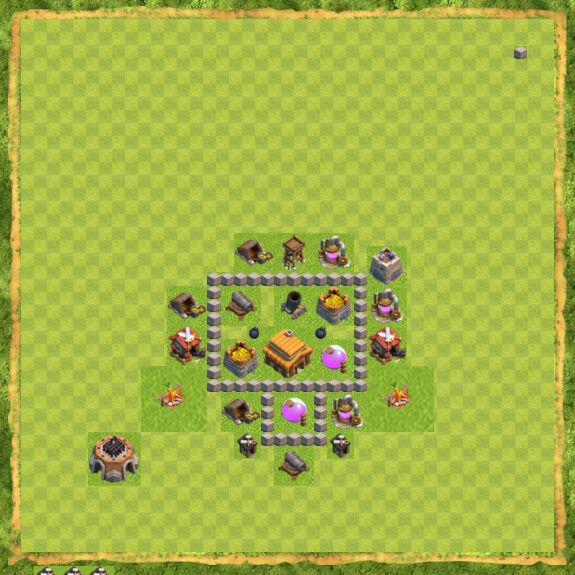 Base War Coc Th 3 25