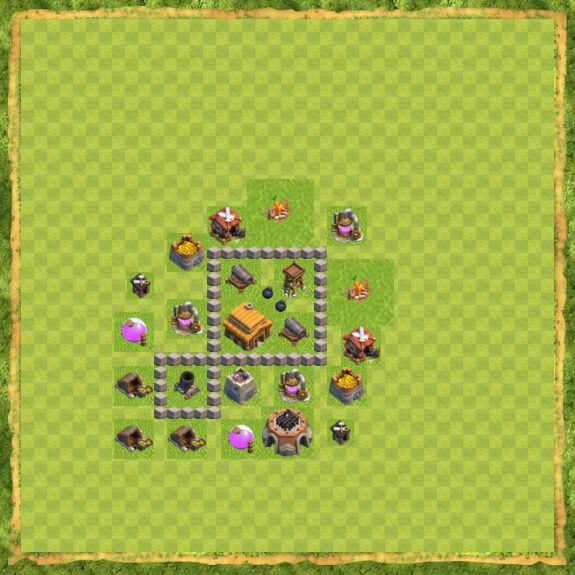 Base War Coc Th 3 27