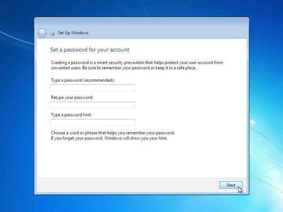 Cara Instal Windows7 19