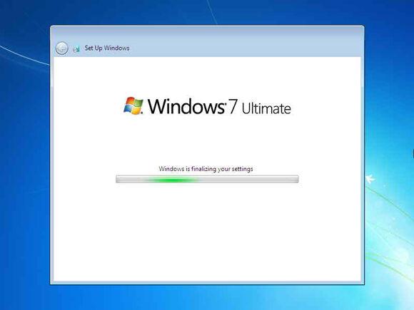 Cara Instal Windows7 25