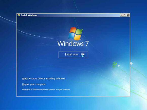 Cara Instal Windows7 3