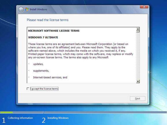 Cara Instal Windows7 4