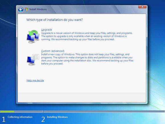 Cara Instal Windows7 5