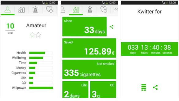 Aplikasi Kwit Stop Smoking Apk