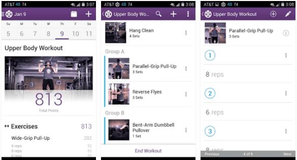 Aplikasi Fitnes Fitocracy Apk
