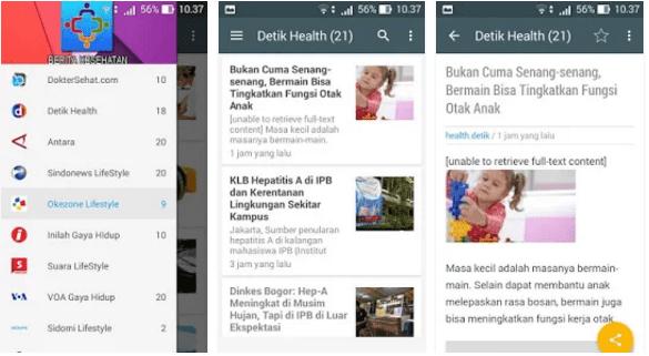 Aplikasi Berita Kesehatan Apk