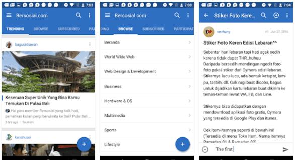 Download Aplikasi Bersosial