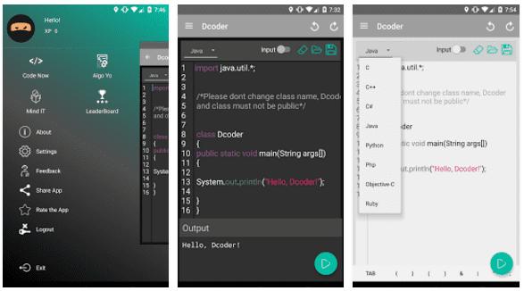 Aplikasi Dcoder