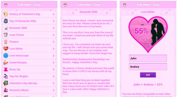 Aplikasi Hari Valentine