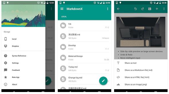 Aplikasi Markdown Di Android