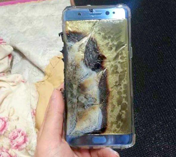 Samsung Galaxy Note 7 Meledak 67b46