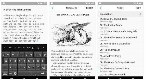 Aplikasi Markdown Untuk Android
