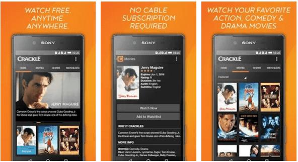 Download Aplikasi Crackle Apk