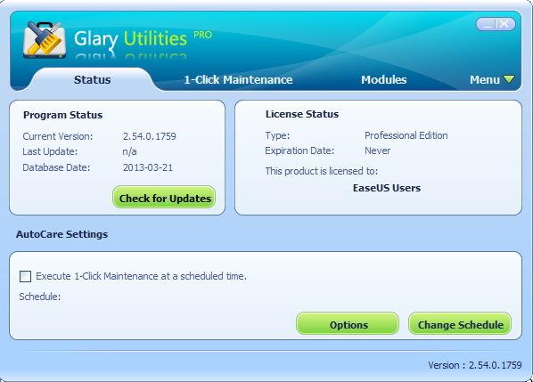 Glary Utilities Lisensi Gratis 2