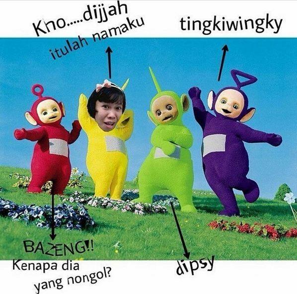 Meme Kocak Teletubbies 16
