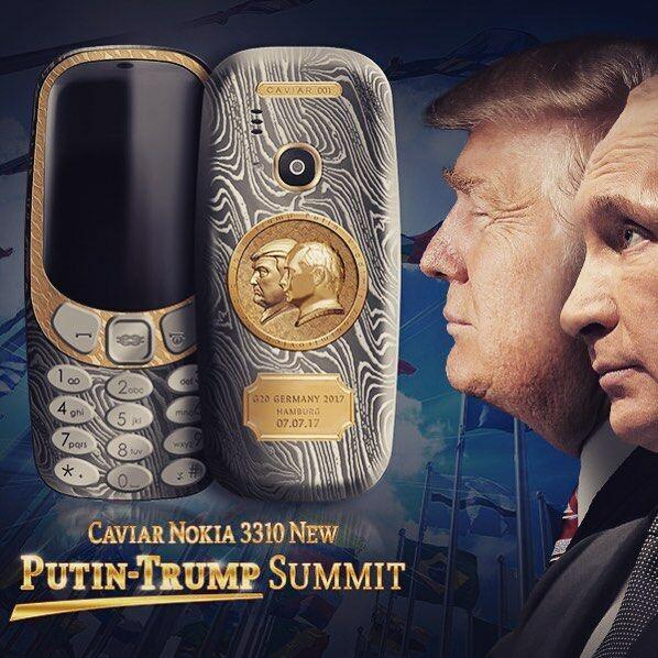 Nokia 3310 Trump Putin 2