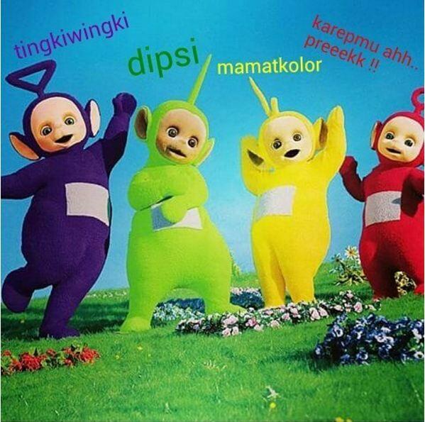 Meme Kocak Teletubbies 8