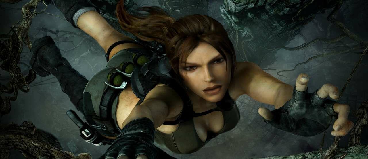 Tomb Raider Underworld Lara Croft Falling Picsay 62059