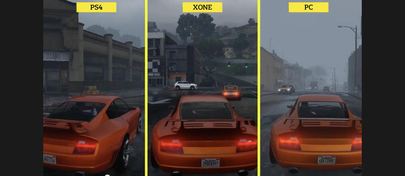 Perbandingan Grafis GTA V di PC, Xbox One, dan PS 4