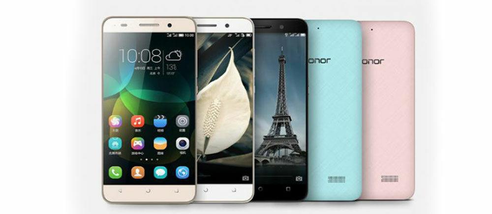 Huawei Honor 4C Resmi Diluncurkan bersama Dua Tablet KitKat