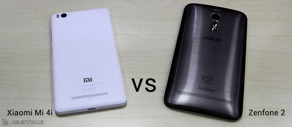 Harga Murah, Pilih Xiaomi Mi4i atau Asus Zenfone 2?