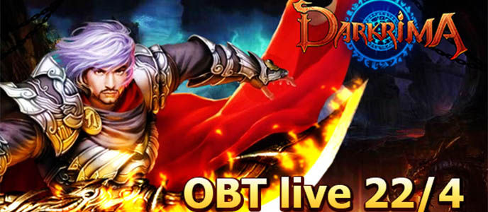 Open Beta Darkrima akan Dimulai 22 April 2014