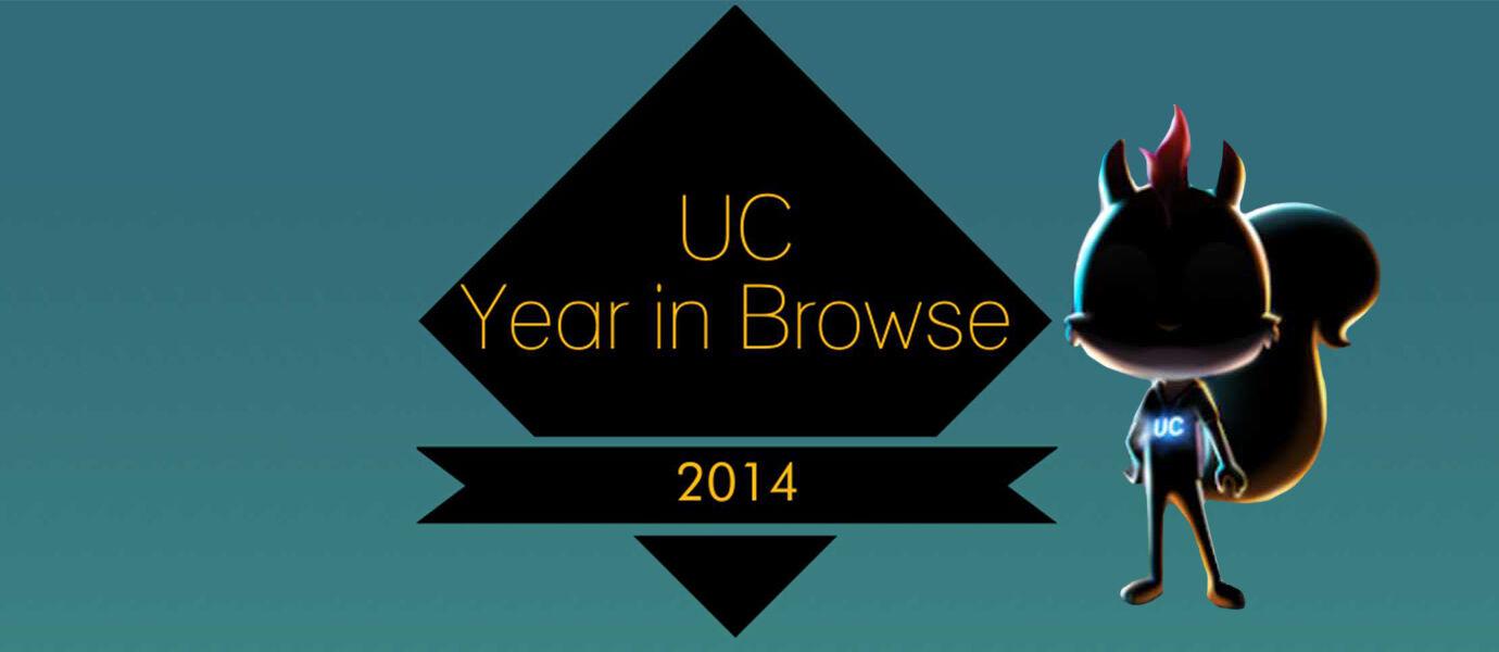 Infografis: Aktivitas yang Terjadi di UC Browser Selama 2014
