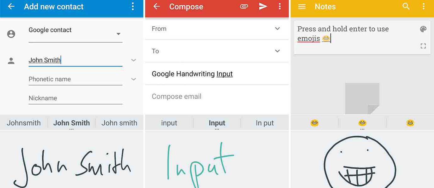 Bosen Ngetik Pake Keyboard di Android? Pake Tulisan Tangan Aja